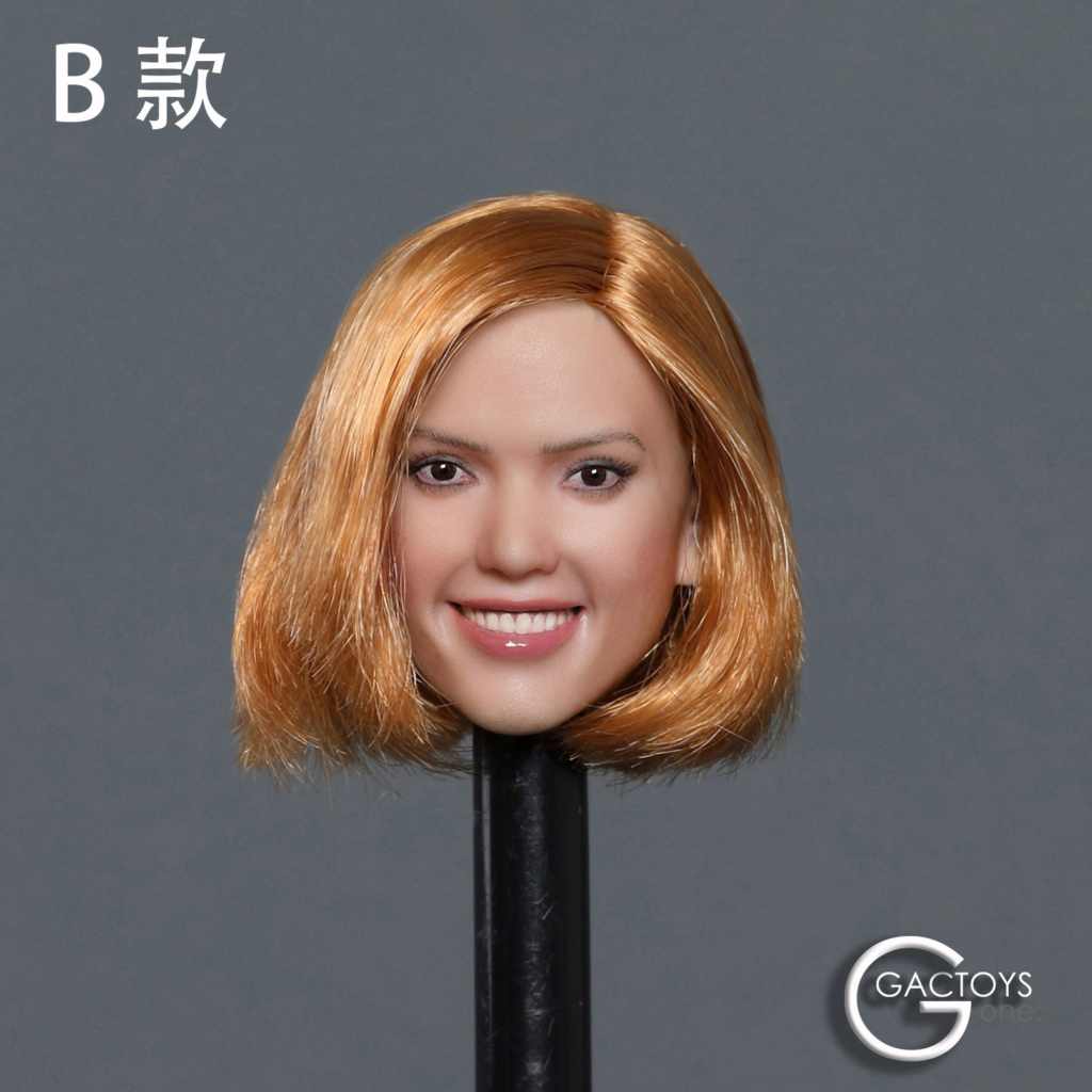 headsculpt - NEW PRODUCT: GACTOYS: 1/6 smiley beauty head carving series two [GC035] [three models A, B, C] 17410511