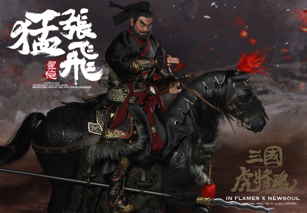 military - NEW PRODUCT: IN FLAMES: 1/6 Meng Zhangfei (single & set) upgrade reprint & feedback important information of customers who have purchased 17410610