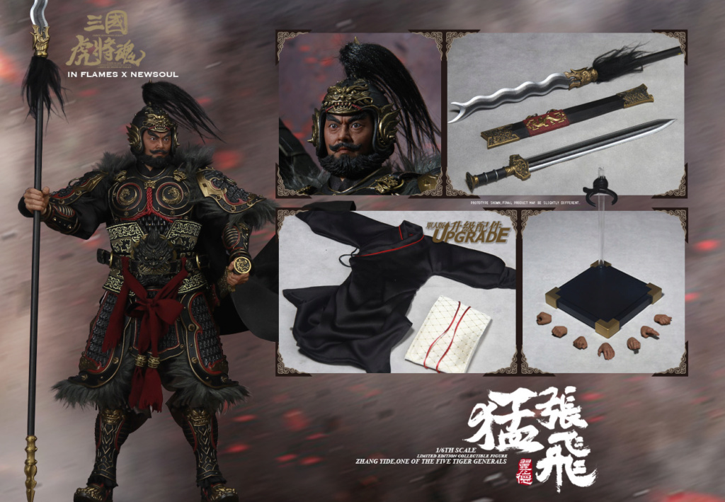military - NEW PRODUCT: IN FLAMES: 1/6 Meng Zhangfei (single & set) upgrade reprint & feedback important information of customers who have purchased 17411110