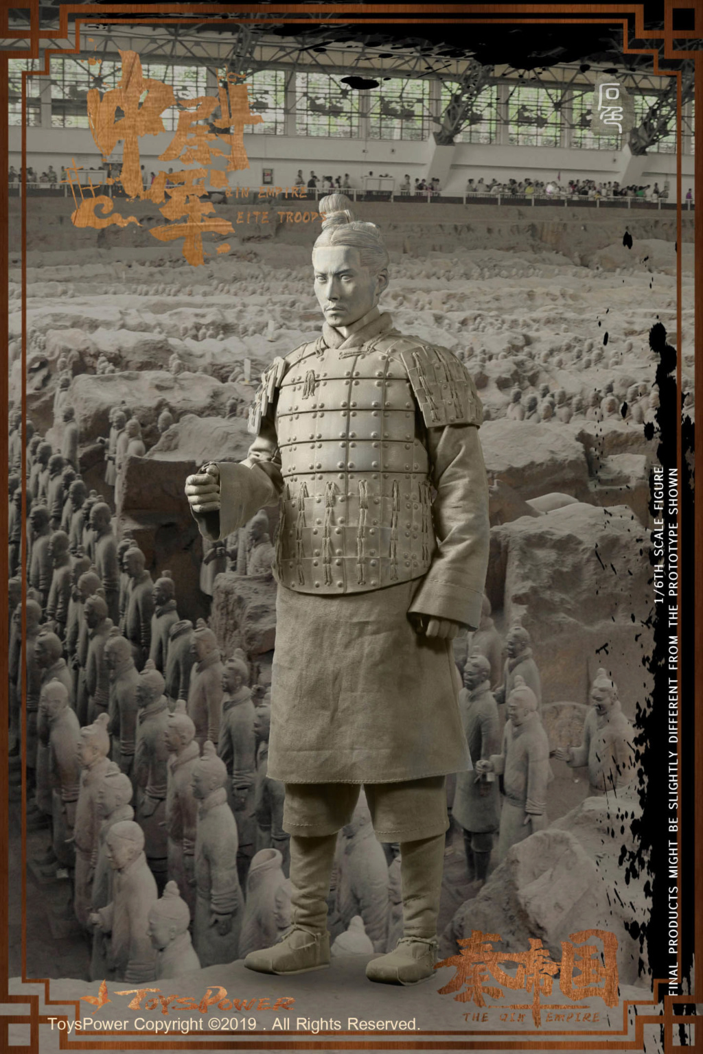 Army - NEW PRODUCT: Toyspower: 1/6 Qin Empire Lieutenant Army (Terracotta Warriors) movable doll CT012# (update armor piece drawing) 17412410