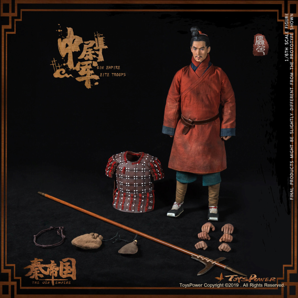 Army - NEW PRODUCT: Toyspower: 1/6 Qin Empire Lieutenant Army (Terracotta Warriors) movable doll CT012# (update armor piece drawing) 17412411