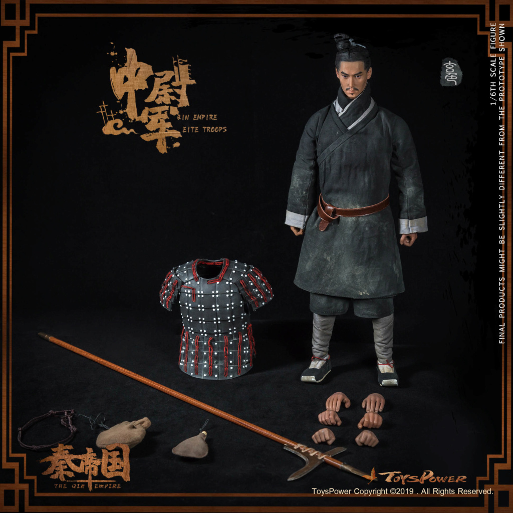 Army - NEW PRODUCT: Toyspower: 1/6 Qin Empire Lieutenant Army (Terracotta Warriors) movable doll CT012# (update armor piece drawing) 17412510