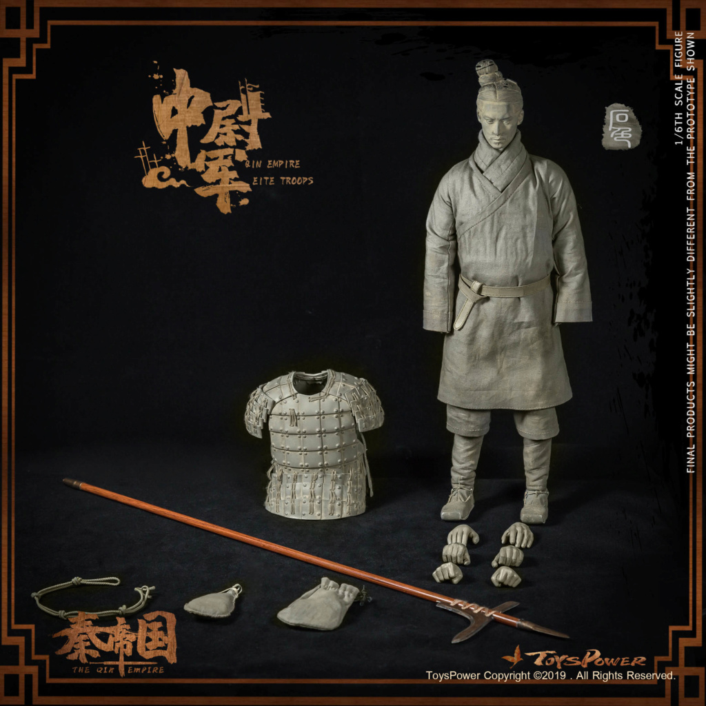 Army - NEW PRODUCT: Toyspower: 1/6 Qin Empire Lieutenant Army (Terracotta Warriors) movable doll CT012# (update armor piece drawing) 17412610