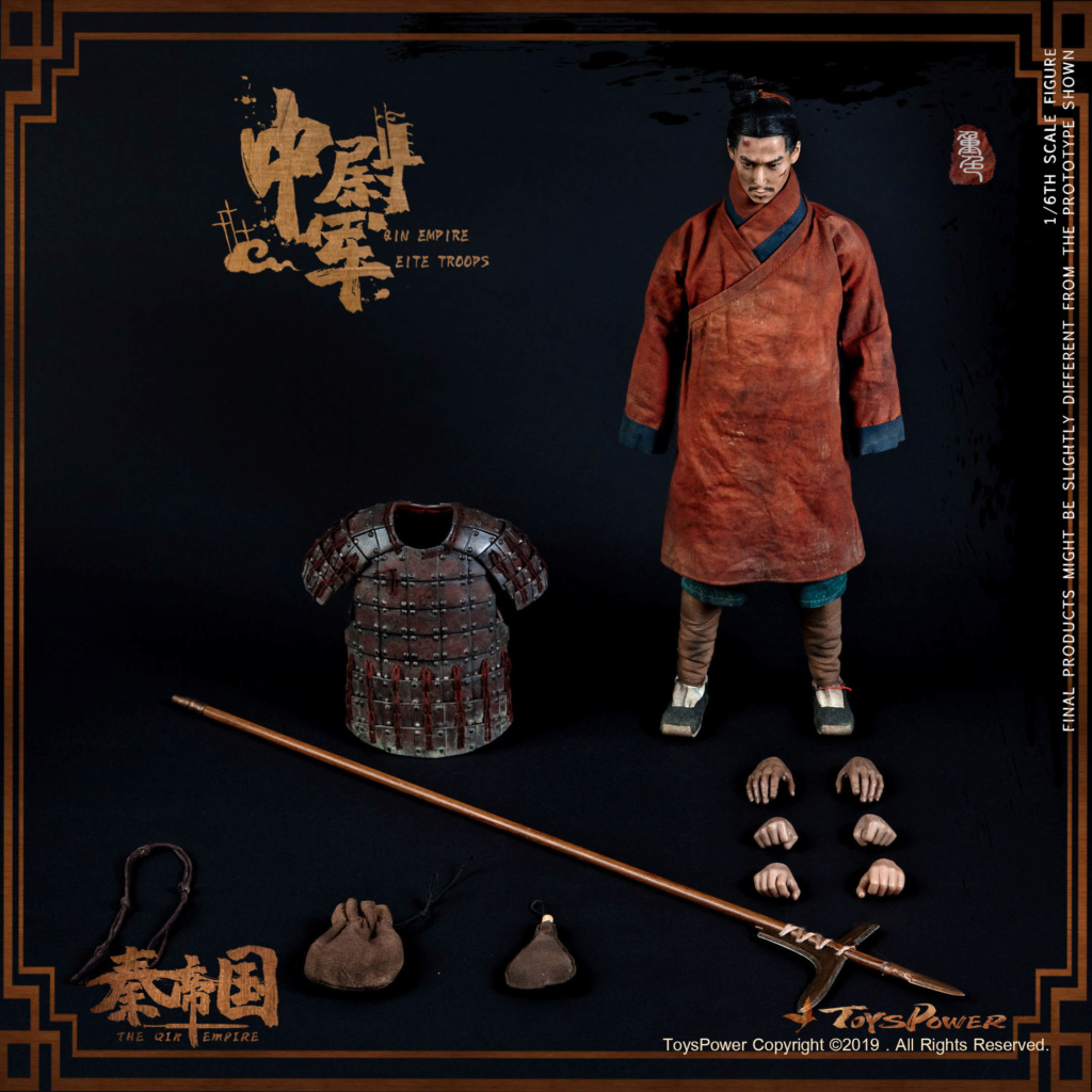 Army - NEW PRODUCT: Toyspower: 1/6 Qin Empire Lieutenant Army (Terracotta Warriors) movable doll CT012# (update armor piece drawing) 17413010