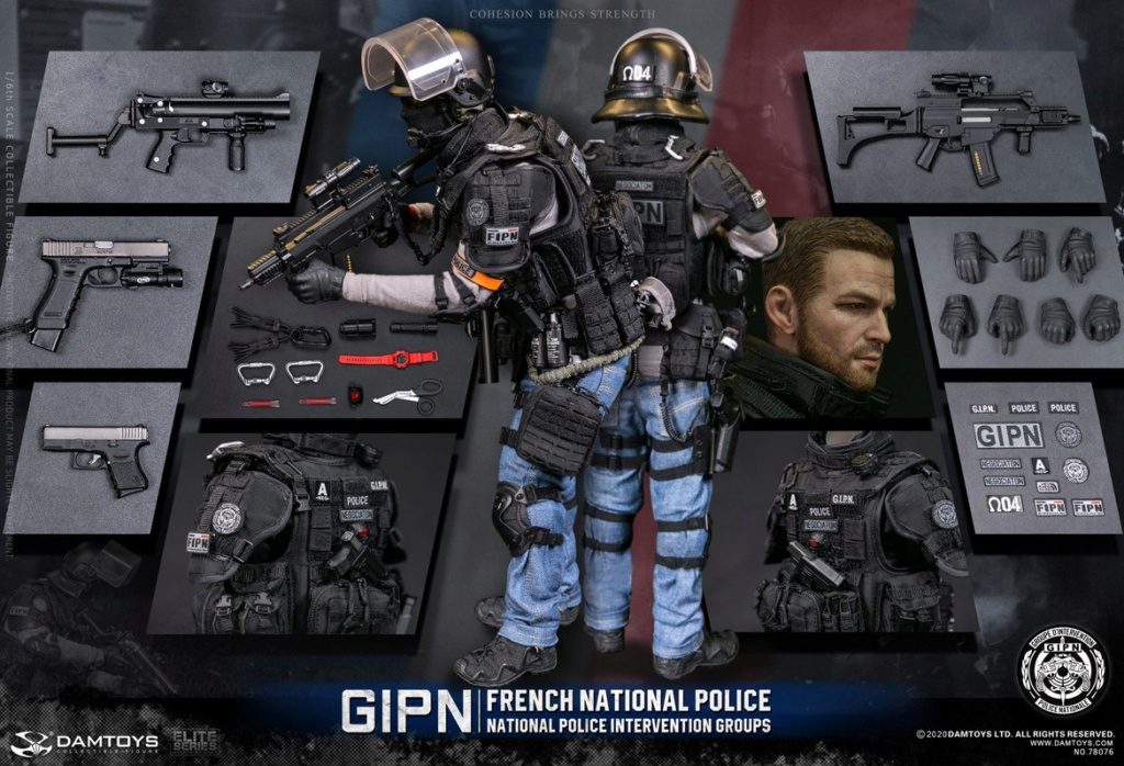 ModernMilitary - NEW PRODUCT: DAMTOYS: GIPN French National Police intervention team Marseille 17435610