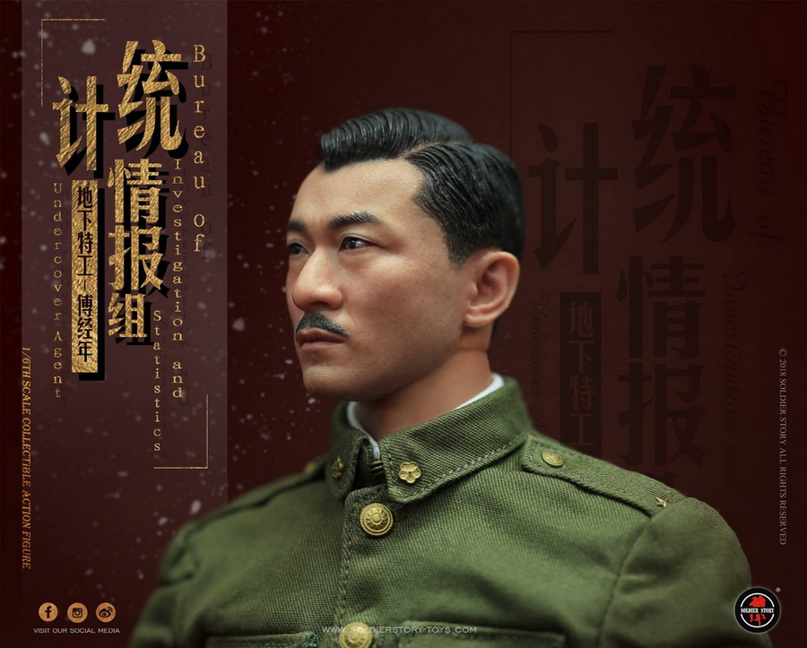 SoldierStory - NEW PRODUCT: SoldierStory new product: 1/6 World War II statistical intelligence group underground agent Fu Jingian - Shanghai 1942 (SS113#) 1745