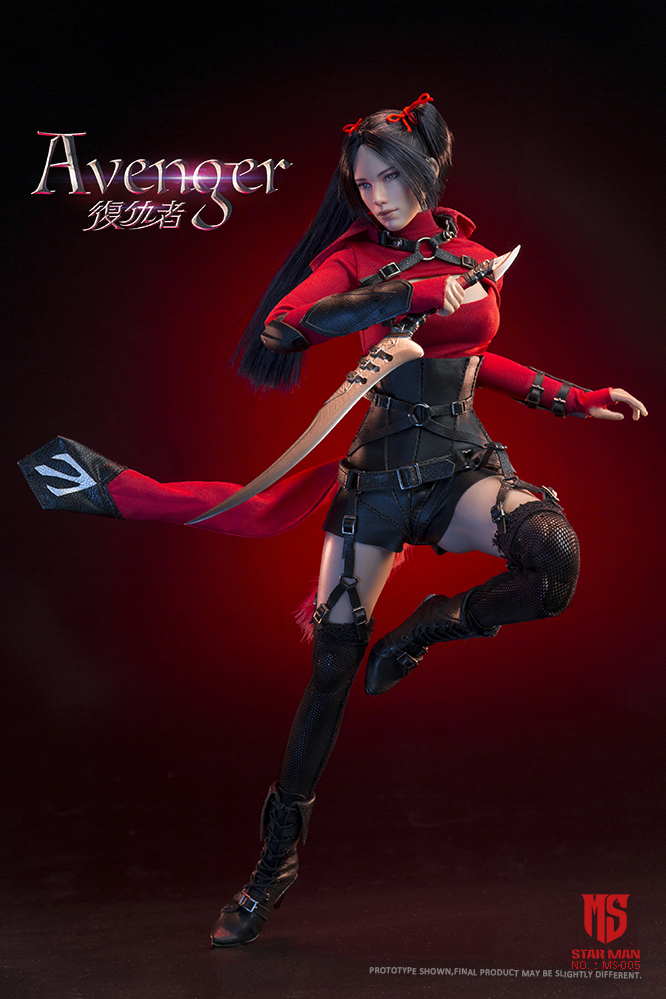 fantasy - NEW PRODUCT: STAR MAN: 1/6 Female Avengers AVENGER Movable (MS-005) (not what you think) 17500010