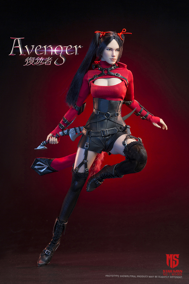 fantasy - NEW PRODUCT: STAR MAN: 1/6 Female Avengers AVENGER Movable (MS-005) (not what you think) 17500210