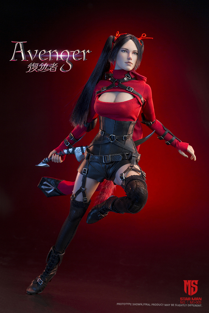 fantasy - NEW PRODUCT: STAR MAN: 1/6 Female Avengers AVENGER Movable (MS-005) (not what you think) 17500410