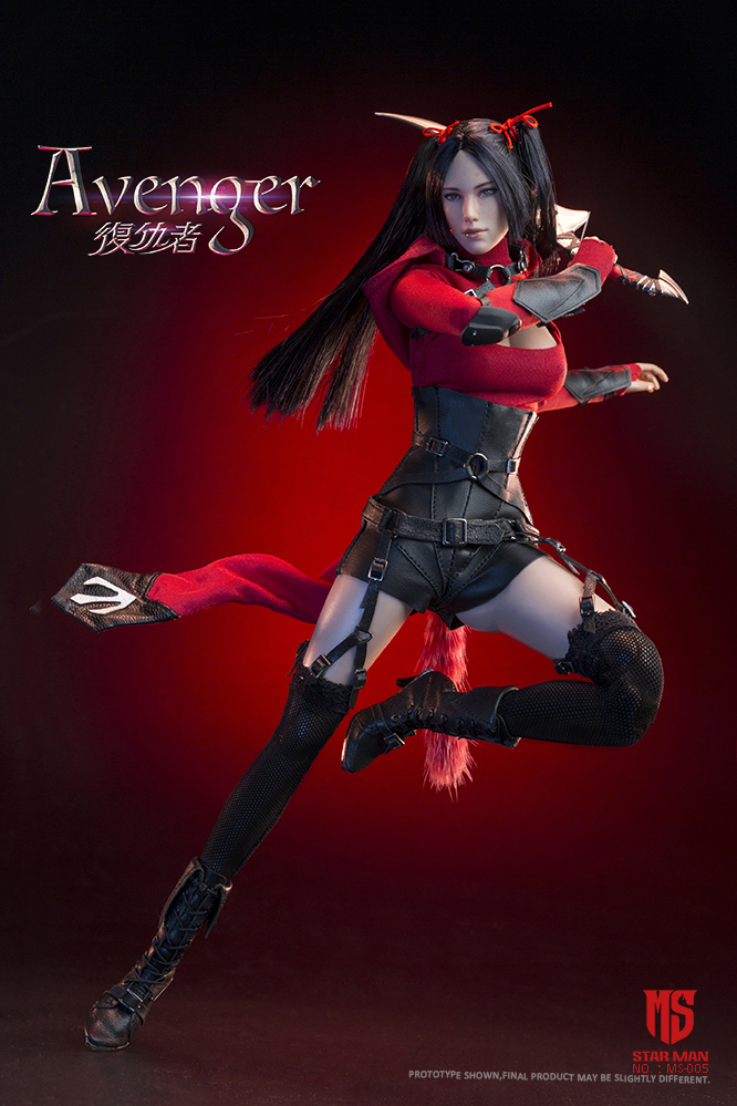 fantasy - NEW PRODUCT: STAR MAN: 1/6 Female Avengers AVENGER Movable (MS-005) (not what you think) 17500610