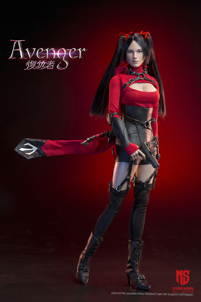 fantasy - NEW PRODUCT: STAR MAN: 1/6 Female Avengers AVENGER Movable (MS-005) (not what you think) 17502410