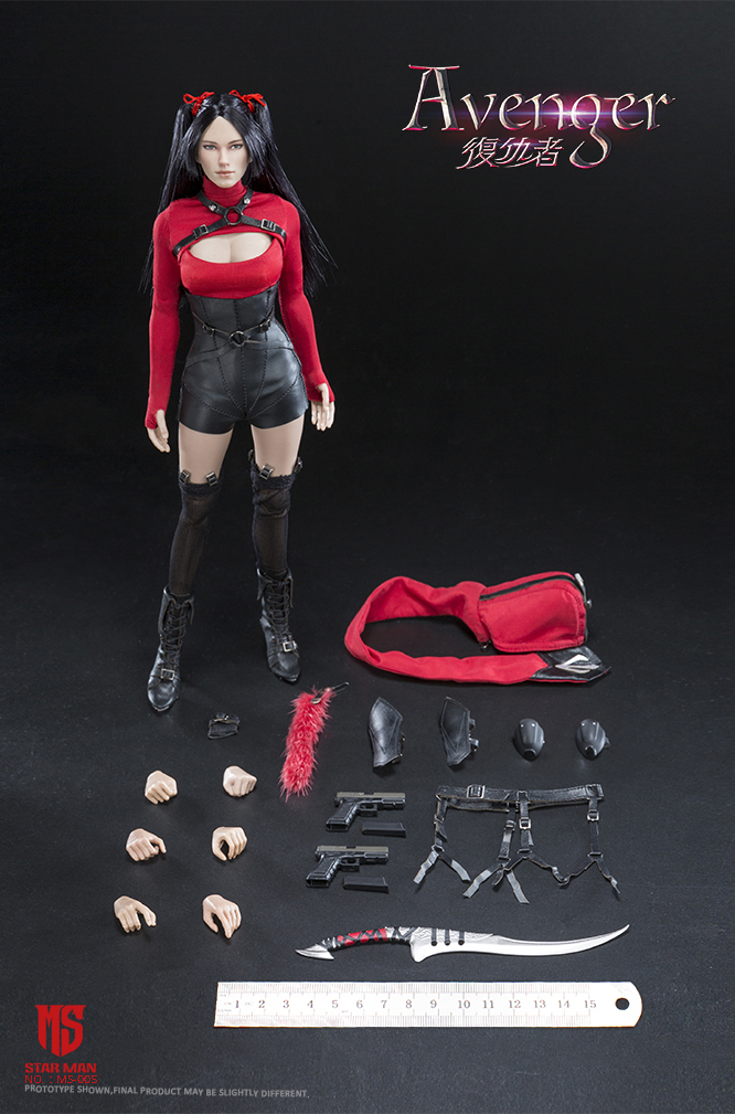 fantasy - NEW PRODUCT: STAR MAN: 1/6 Female Avengers AVENGER Movable (MS-005) (not what you think) 17503610