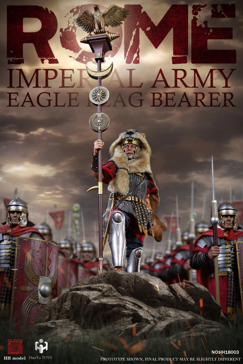 ImperialLegion - NEW PRODUCT: HH Model x HaoYuTOYS Joint Launch: 1/6 Imperial Legion - Eagle Flag/Aquilifer Motif 17511010