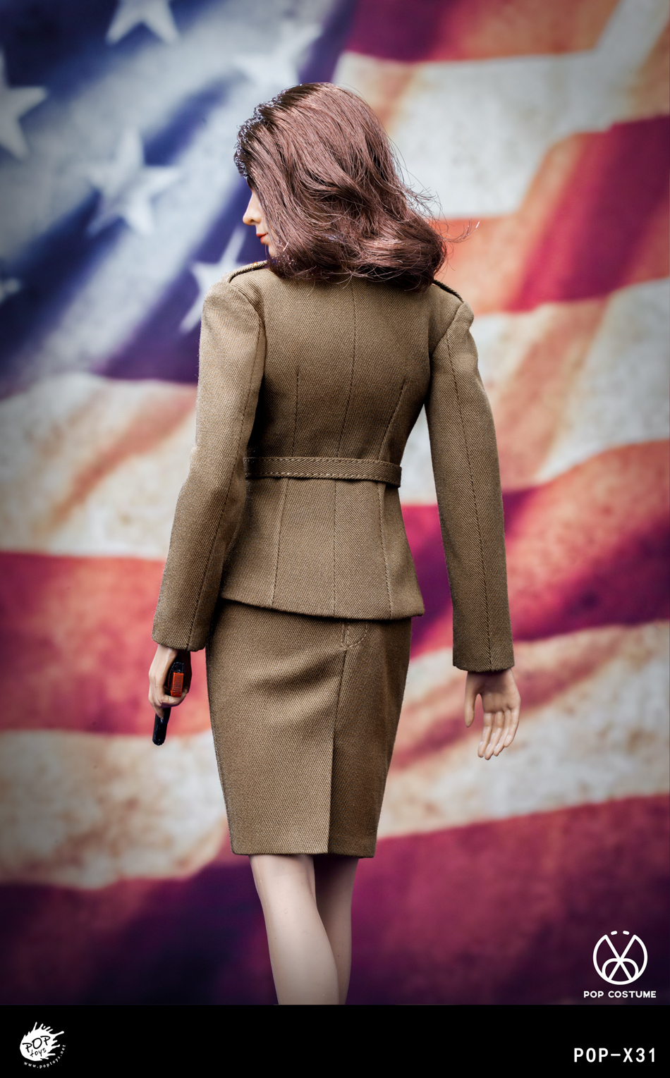 poptoys - NEW PRODUCT: POPTOYS: 1/6 Series X31 - World War II US Female Agent Uniform Set 17551411