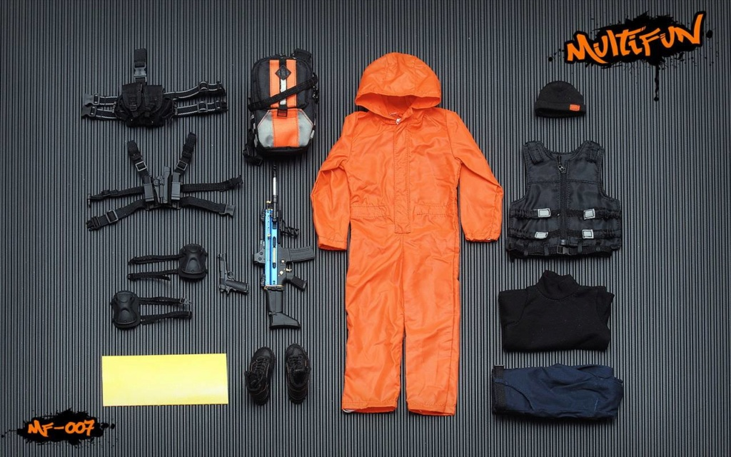 NEW PRODUCT: MULTIFUN 1/6th scale Quarantine Zone Agent 12-inch action figure Set 1758