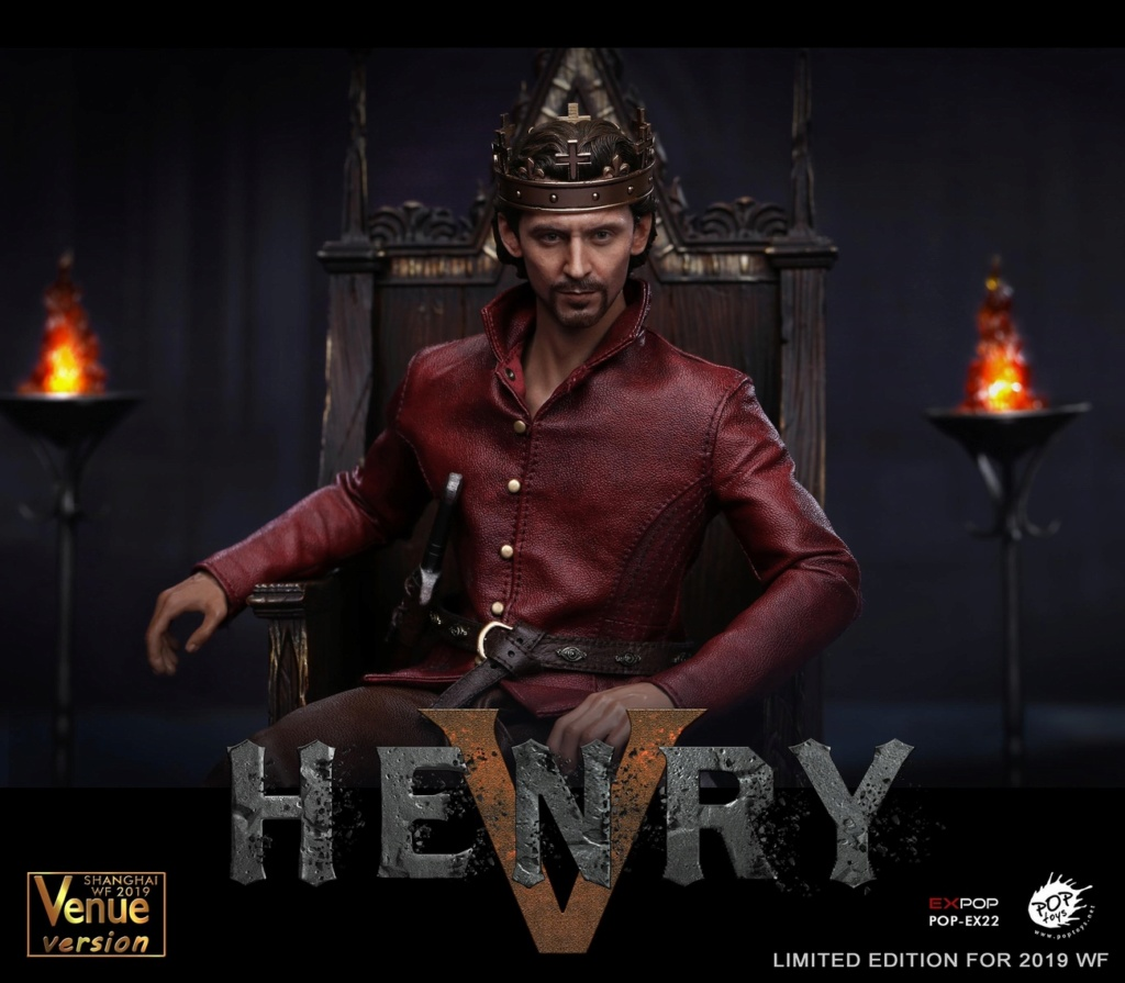 NEW PRODUCT: POPTOYS [WF2019 Shanghai Conference Edition]: 1/6 King of England - Henry V [The Throne Edition] POP-EX22 17591510