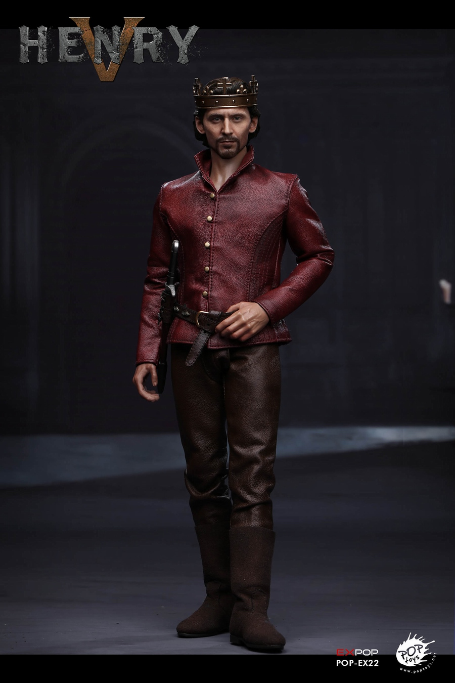 TVbased - NEW PRODUCT: POPTOYS [WF2019 Shanghai Conference Edition]: 1/6 King of England - Henry V [The Throne Edition] POP-EX22 17591711