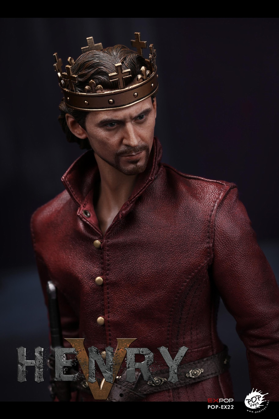 NEW PRODUCT: POPTOYS [WF2019 Shanghai Conference Edition]: 1/6 King of England - Henry V [The Throne Edition] POP-EX22 17592110