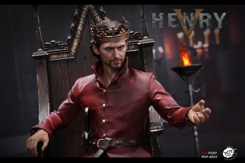 NEW PRODUCT: POPTOYS [WF2019 Shanghai Conference Edition]: 1/6 King of England - Henry V [The Throne Edition] POP-EX22 17592210