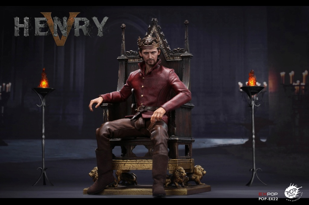 NEW PRODUCT: POPTOYS [WF2019 Shanghai Conference Edition]: 1/6 King of England - Henry V [The Throne Edition] POP-EX22 17592310