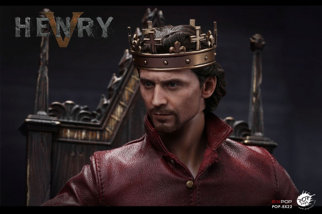 NEW PRODUCT: POPTOYS [WF2019 Shanghai Conference Edition]: 1/6 King of England - Henry V [The Throne Edition] POP-EX22 17592311