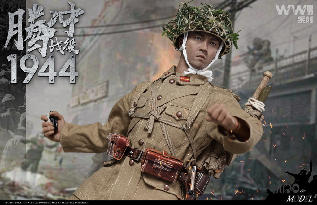 IQOModel - NEW PRODUCT: IQO Model: 1/6 WWII Series 1944 Tengchong Campaign [Updated Pack] (NO.91001) 17593010