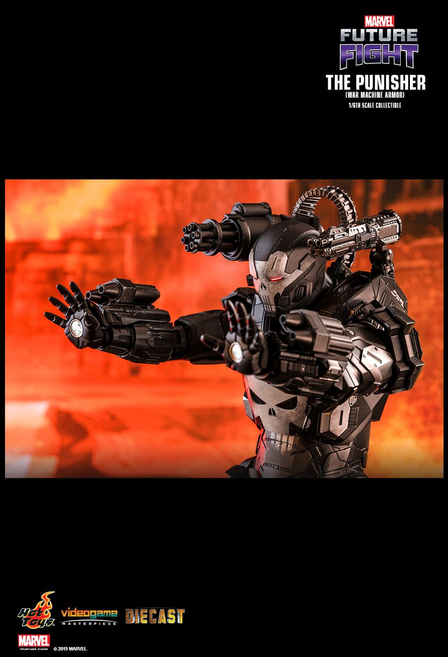 Videogame - NEW PRODUCT: HOT TOYS: MARVEL FUTURE FIGHT THE PUNISHER (WAR MACHINE ARMOR) 1/6TH SCALE COLLECTIBLE FIGURE 1763