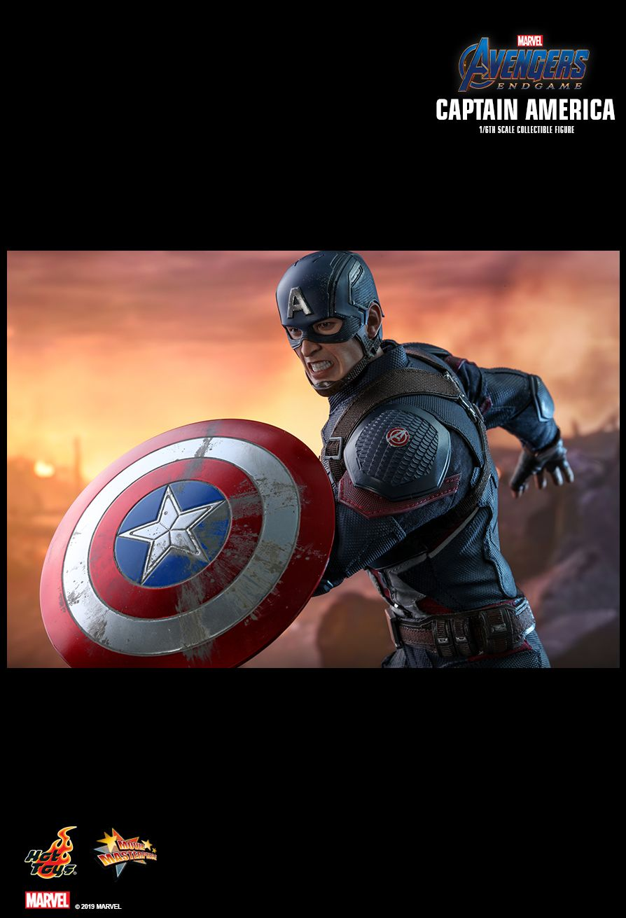 captainamerica - NEW PRODUCT: HOT TOYS: AVENGERS: ENDGAME CAPTAIN AMERICA 1/6TH SCALE COLLECTIBLE FIGURE 1785