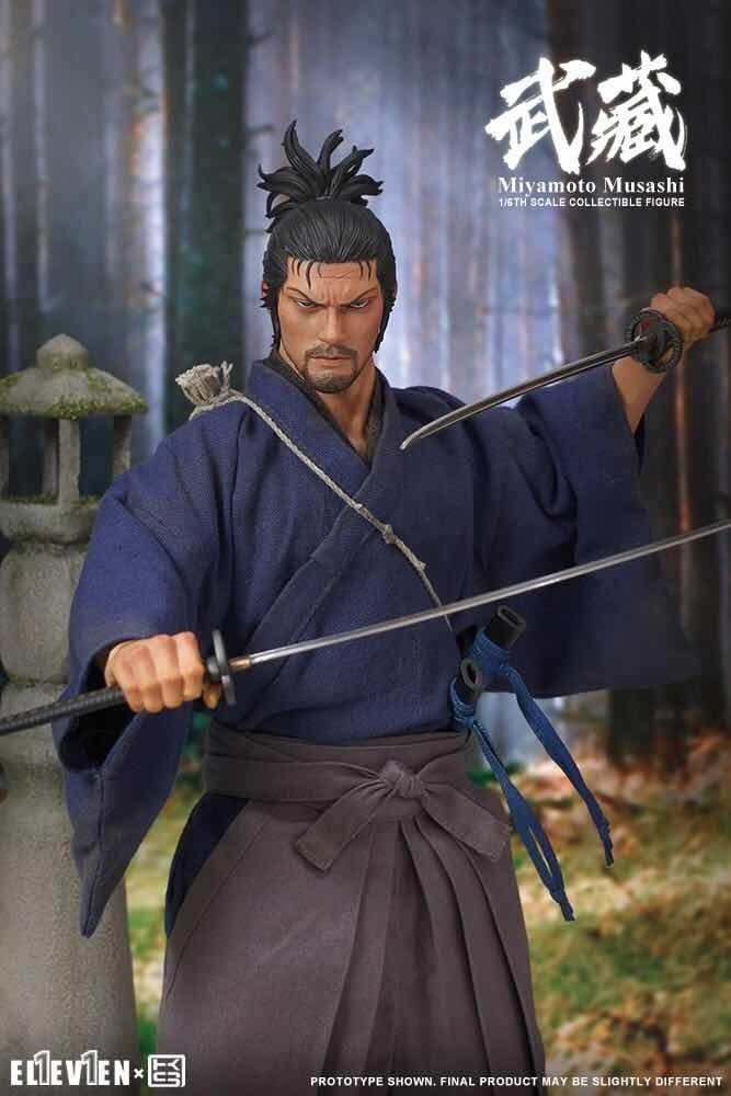 NEW PRODUCT: Eleven X KAI Musashi 1/6 Scale Figure 1789