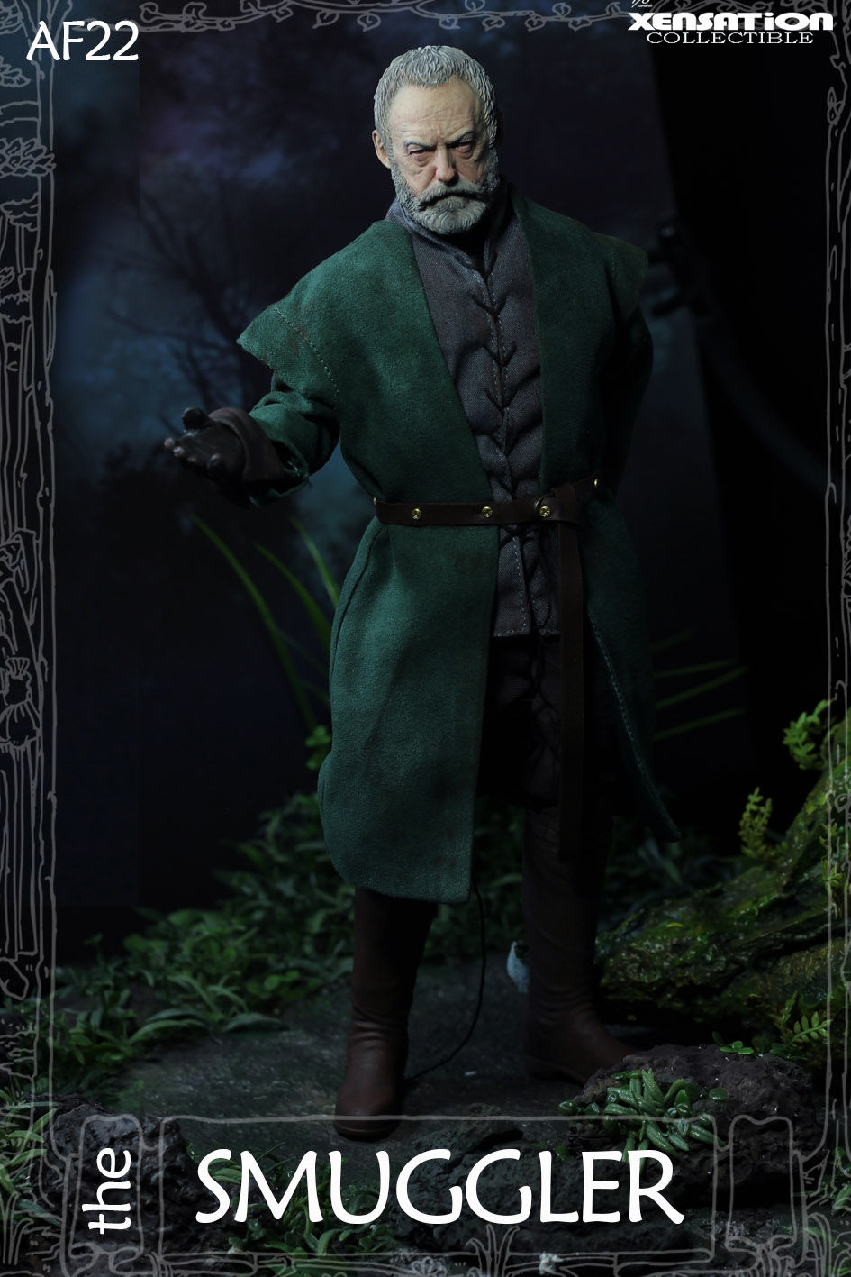 male - NEW PRODUCT: Xensation: 1/6 The Smuggler action figure AF23# 18000010