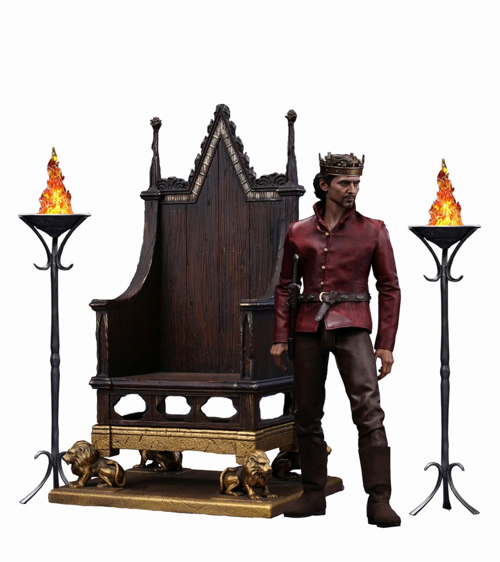 NEW PRODUCT: POPTOYS [WF2019 Shanghai Conference Edition]: 1/6 King of England - Henry V [The Throne Edition] POP-EX22 18014310