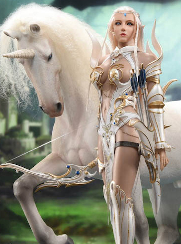fantasy - NEW PRODUCT: [LXF-1904B] Elf Queen Emma Queen Version 1:6 Figure by Lucifer 1802