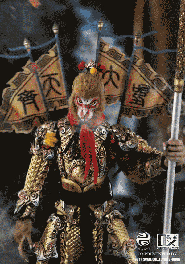 EveningPhase - NEW PRODUCT: 303TOYS x Evening phase: 1/6 National Wind Legend Series - Sun Wukong Monkey King Apocalypse & Dasheng Qitian & Stepping 18035310