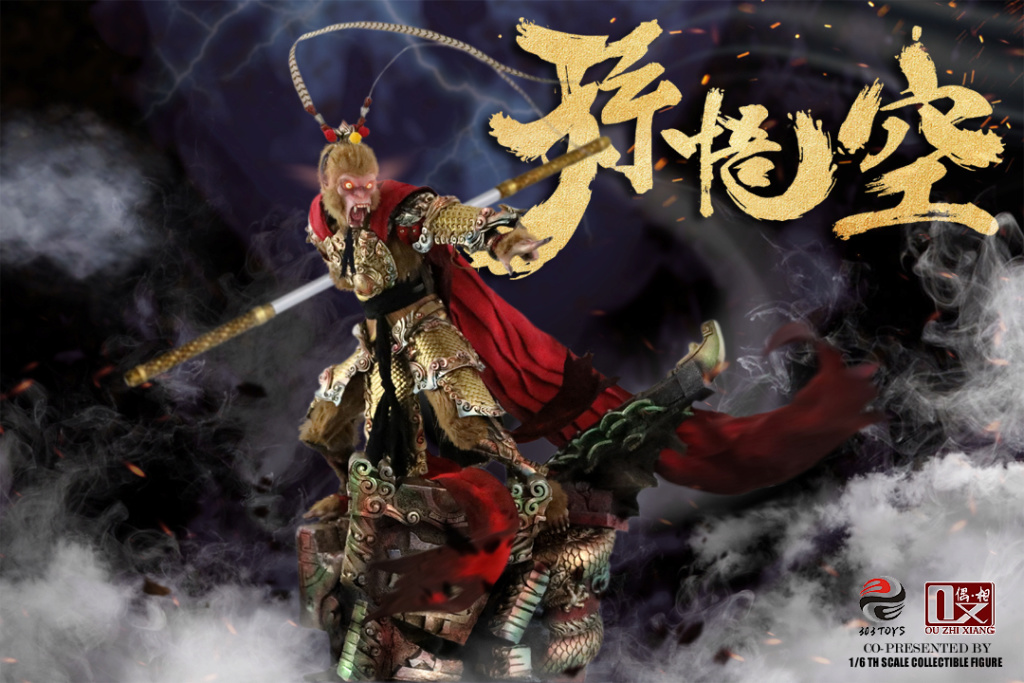 EveningPhase - NEW PRODUCT: 303TOYS x Evening phase: 1/6 National Wind Legend Series - Sun Wukong Monkey King Apocalypse & Dasheng Qitian & Stepping 18035410