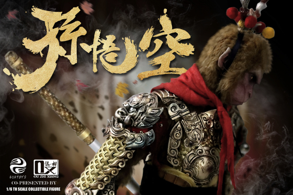 Mythology - NEW PRODUCT: 303TOYS x Evening phase: 1/6 National Wind Legend Series - Sun Wukong Monkey King Apocalypse & Dasheng Qitian & Stepping 18035411