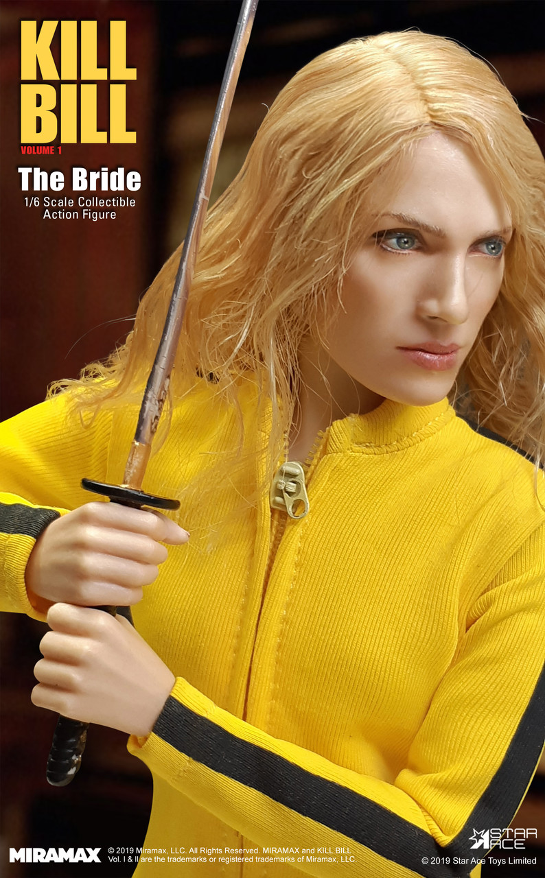 NEW PRODUCT: [SA-0039] Kill Bill The Bride Vol. 1 1/6 Scale Figure by Star Ace 1805