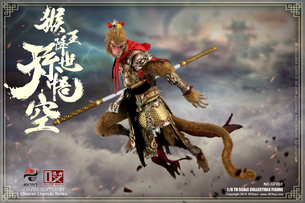 Mythology - NEW PRODUCT: 303TOYS x Evening phase: 1/6 National Wind Legend Series - Sun Wukong Monkey King Apocalypse & Dasheng Qitian & Stepping 18065110