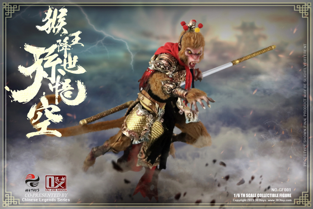 Mythology - NEW PRODUCT: 303TOYS x Evening phase: 1/6 National Wind Legend Series - Sun Wukong Monkey King Apocalypse & Dasheng Qitian & Stepping 18065210