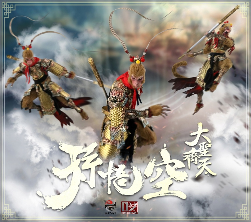 EveningPhase - NEW PRODUCT: 303TOYS x Evening phase: 1/6 National Wind Legend Series - Sun Wukong Monkey King Apocalypse & Dasheng Qitian & Stepping 18090510