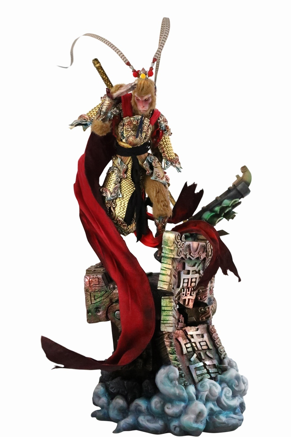 EveningPhase - NEW PRODUCT: 303TOYS x Evening phase: 1/6 National Wind Legend Series - Sun Wukong Monkey King Apocalypse & Dasheng Qitian & Stepping 18102911