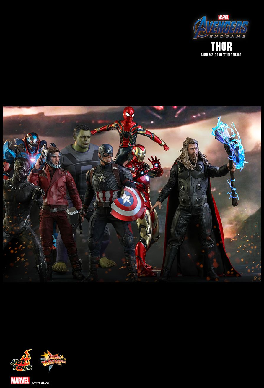 male - NEW PRODUCT: HOT TOYS: AVENGERS: ENDGAME THOR 1/6TH SCALE COLLECTIBLE FIGURE 18115