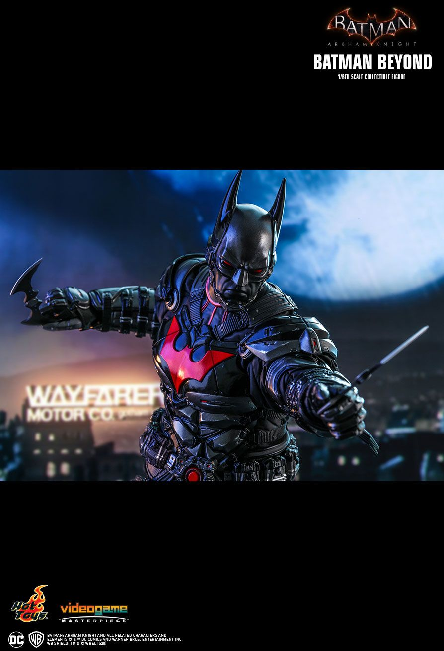videogame - NEW PRODUCT: HOT TOYS: BATMAN: ARKHAM KNIGHT BATMAN BEYOND 1/6TH SCALE COLLECTIBLE FIGURE 18134