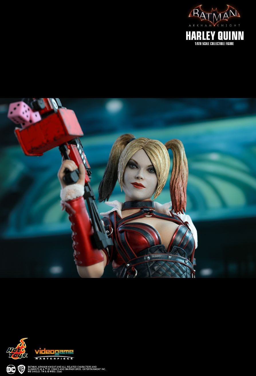 HarleyQuinn - NEW PRODUCT: HOT TOYS: BATMAN: ARKHAM KNIGHT HARLEY QUINN 1/6TH SCALE COLLECTIBLE FIGURE 18140