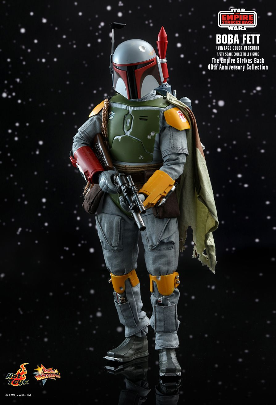sci-fi - NEW PRODUCT: HOT TOYS: STAR WARS: THE EMPIRE STRIKES BACK™ BOBA FETT™ (VINTAGE COLOR VERSION) (40TH ANNIVERSARY COLLECTION) 1/6TH SCALE COLLECTIBLE FIGURE 18149