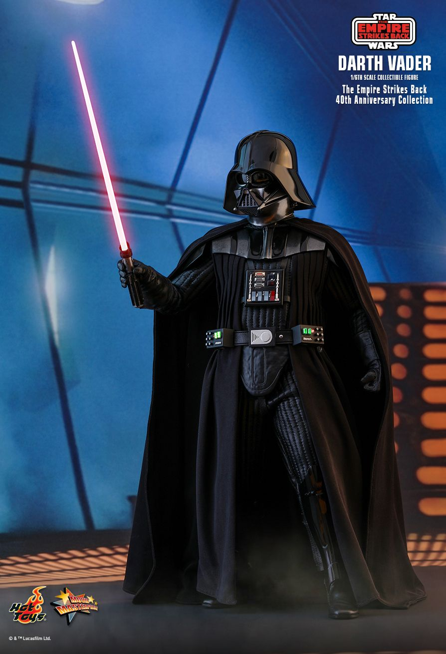40thAnniversaryCollection - NEW PRODUCT: HOT TOYS: STAR WARS: THE EMPIRE STRIKES BACK™ DARTH VADER™ (40TH ANNIVERSARY COLLECTION) 1/6TH SCALE COLLECTIBLE FIGURE 18150