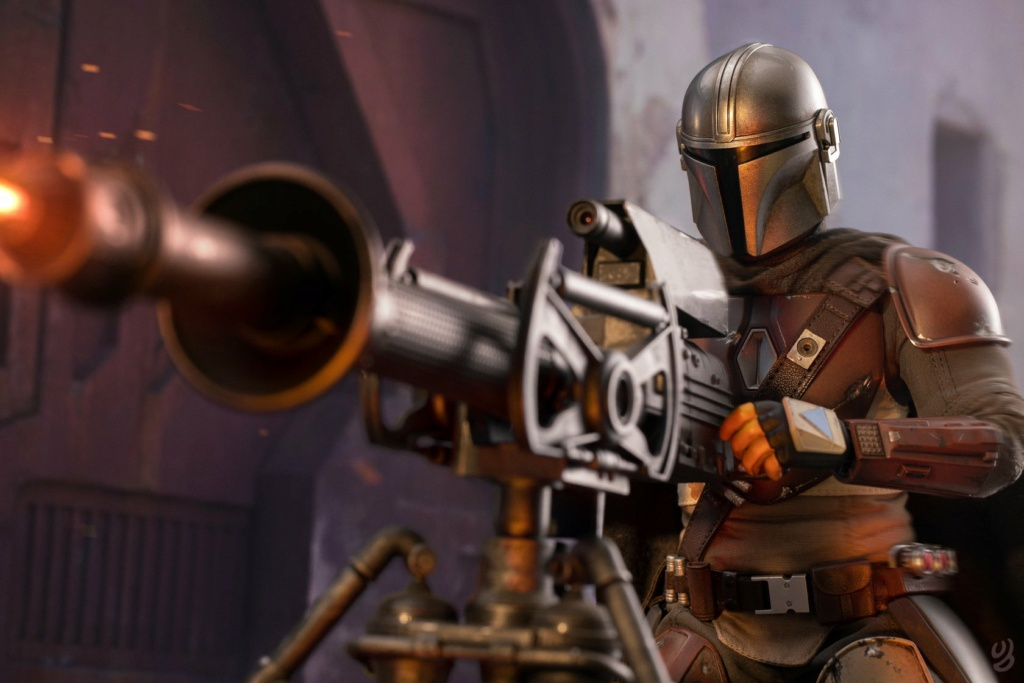 StarWars - NEW PRODUCT: HOT TOYS: THE MANDALORIAN -- THE MANDALORIAN 1/6TH SCALE COLLECTIBLE FIGURE 18170