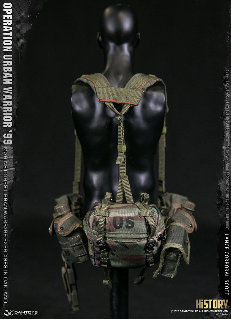 MarineCorps - NEW PRODUCT: DAMToys: 1/6 '99 City Warrior Operation-Marine Corps Oakland City Battle Exercise - Lance Corporal Scott #78079 18173