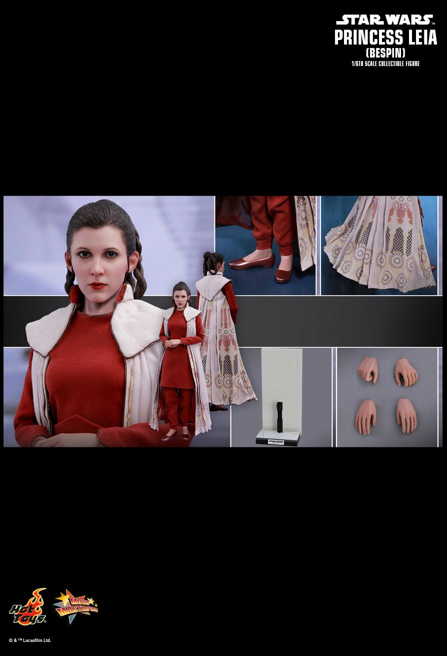 empirestrikesback - NEW PRODUCT: HOT TOYS: STAR WARS: THE EMPIRE STRIKES BACK PRINCESS LEIA (BESPIN) 1/6TH SCALE COLLECTIBLE FIGURE 1823
