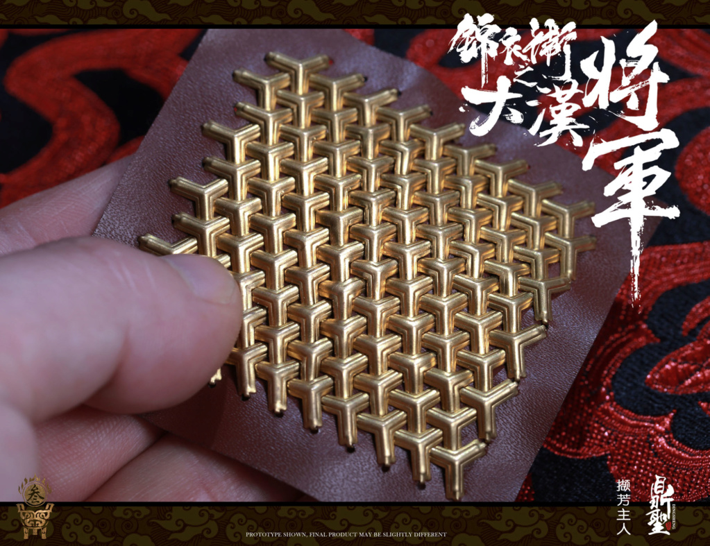 military - NEW PRODUCT: Ding Sheng Mo to play: 1/6 Out of the police into the big Han general (pure copper handmade mountain Wenjia) - gold armor version / silver armor version / dragon screen suit 18244910