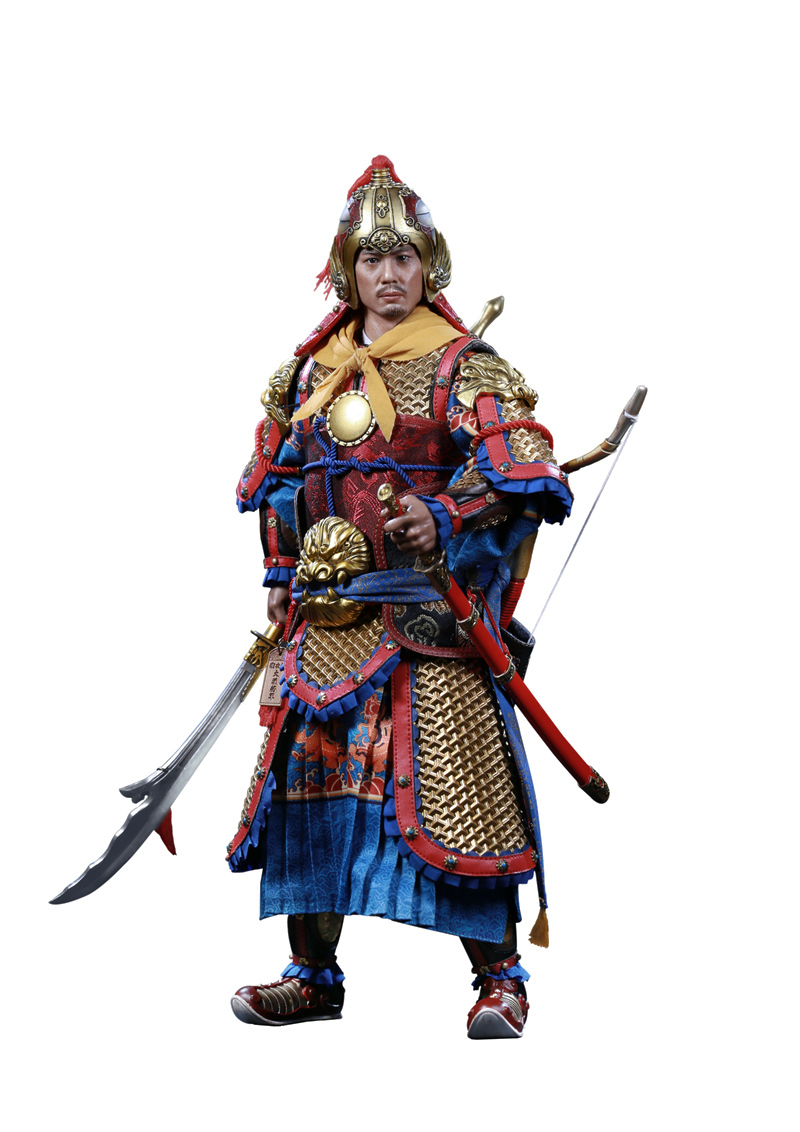 military - NEW PRODUCT: Ding Sheng Mo to play: 1/6 Out of the police into the big Han general (pure copper handmade mountain Wenjia) - gold armor version / silver armor version / dragon screen suit 18245810